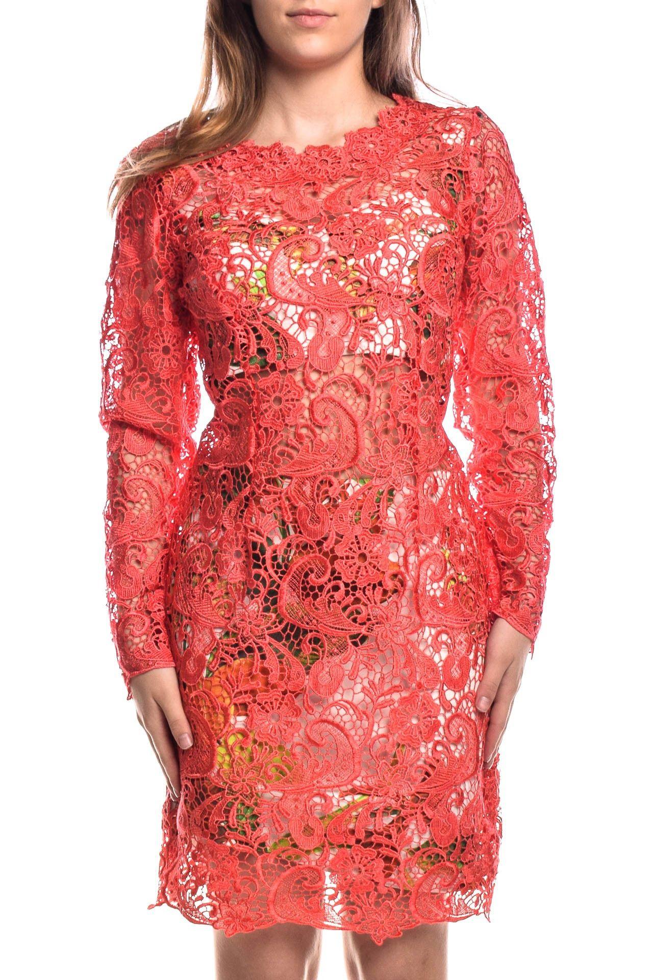 Fabulous Agilità - Conjunto Vestido Renda Coral - Foto 2