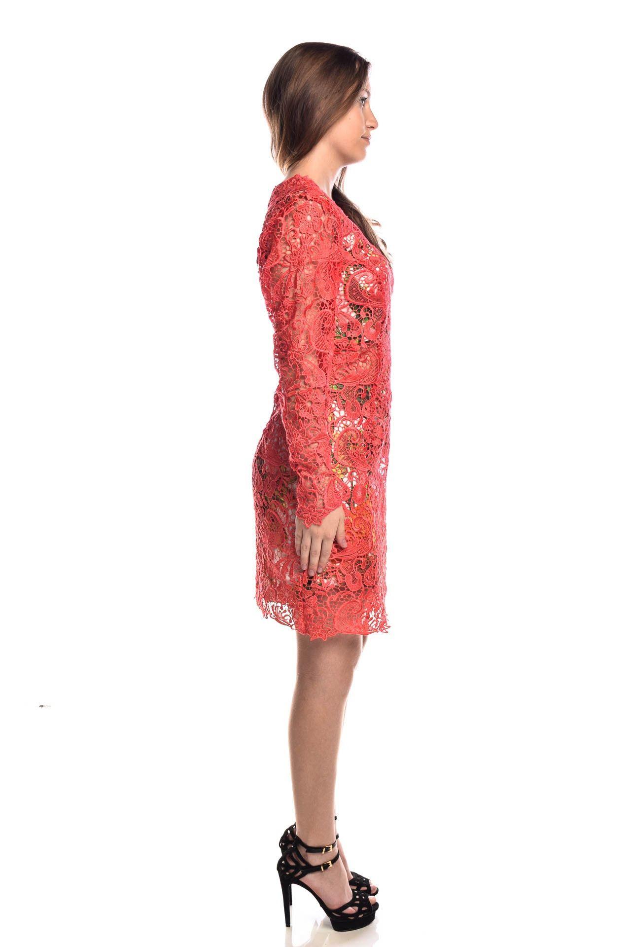 Fabulous Agilità - Conjunto Vestido Renda Coral - Foto 4