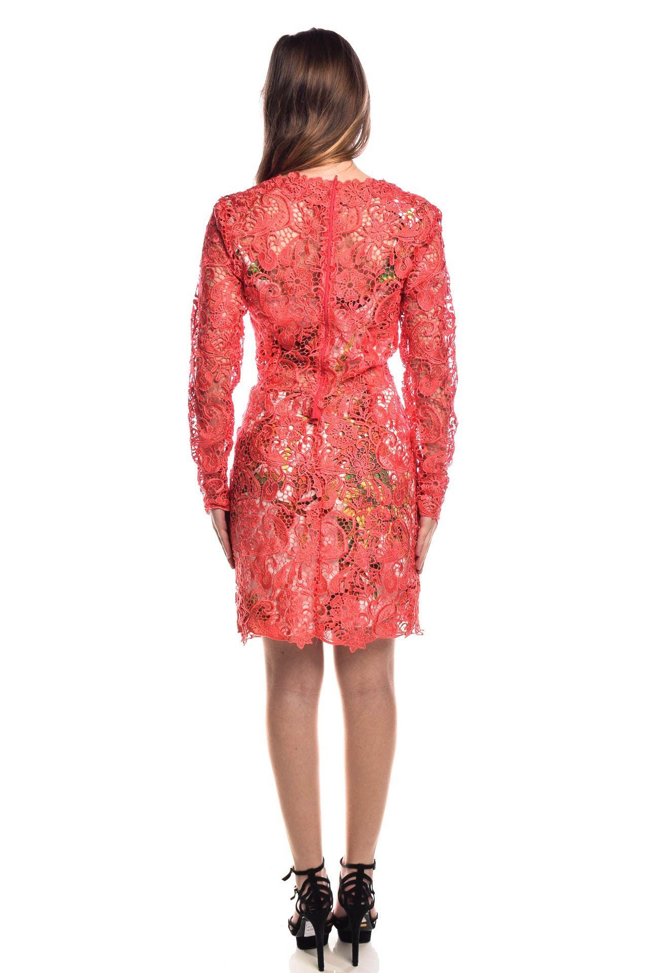 Fabulous Agilità - Conjunto Vestido Renda Coral - Foto 5