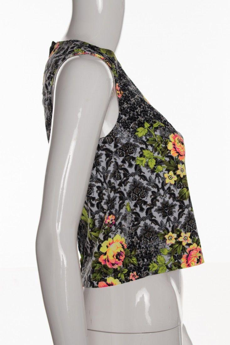 Topshop - Top Floral Arabescos - Foto 3