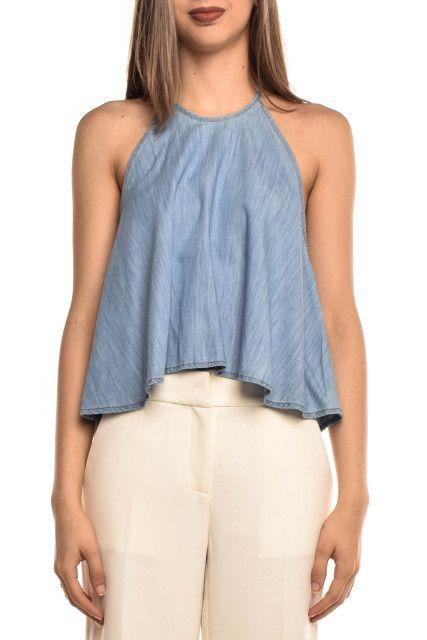 Blusa Jeans Azul NYBD