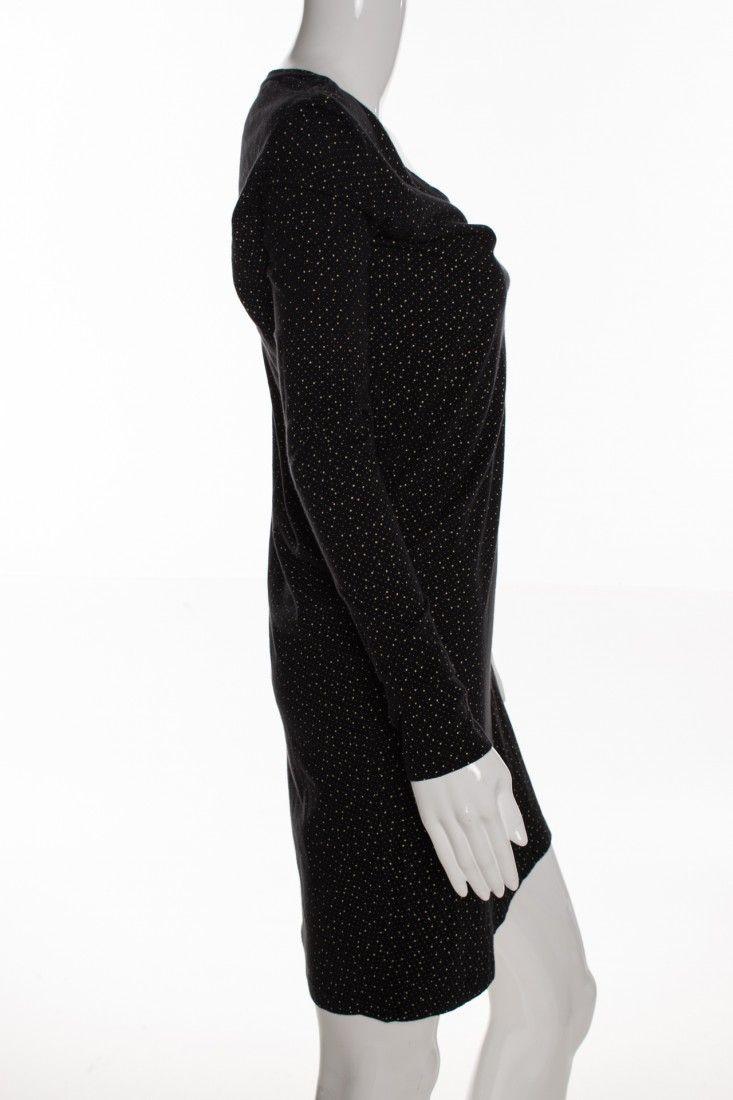 Osklen - Vestido Black Poá - Foto 3