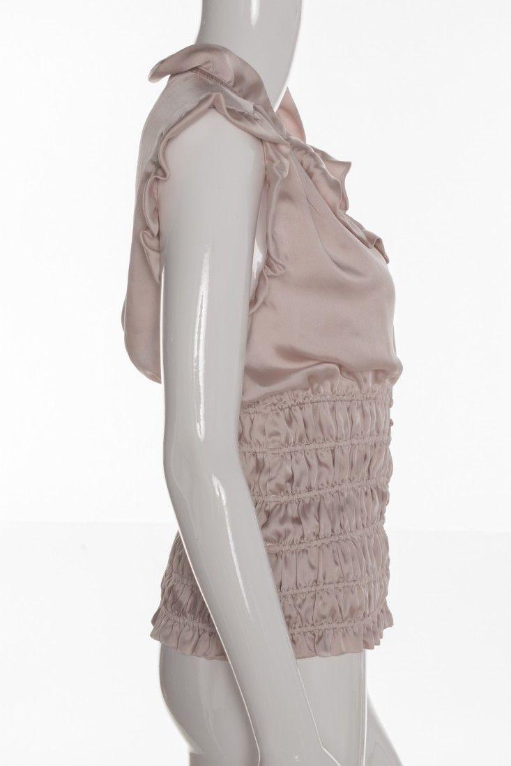 Zara - Blusa Rosé Cetim - Foto 3