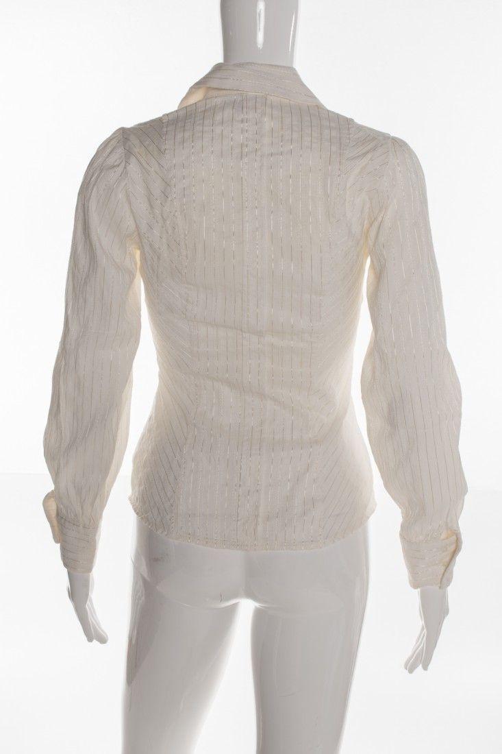Zara - Camisa Babado Stretch - Foto 2
