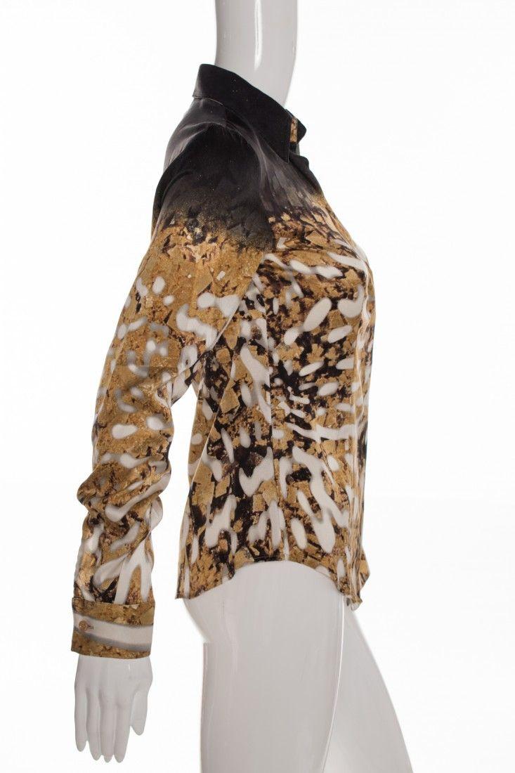 Just Cavalli - Camisa Estampada Degradê - Foto 3