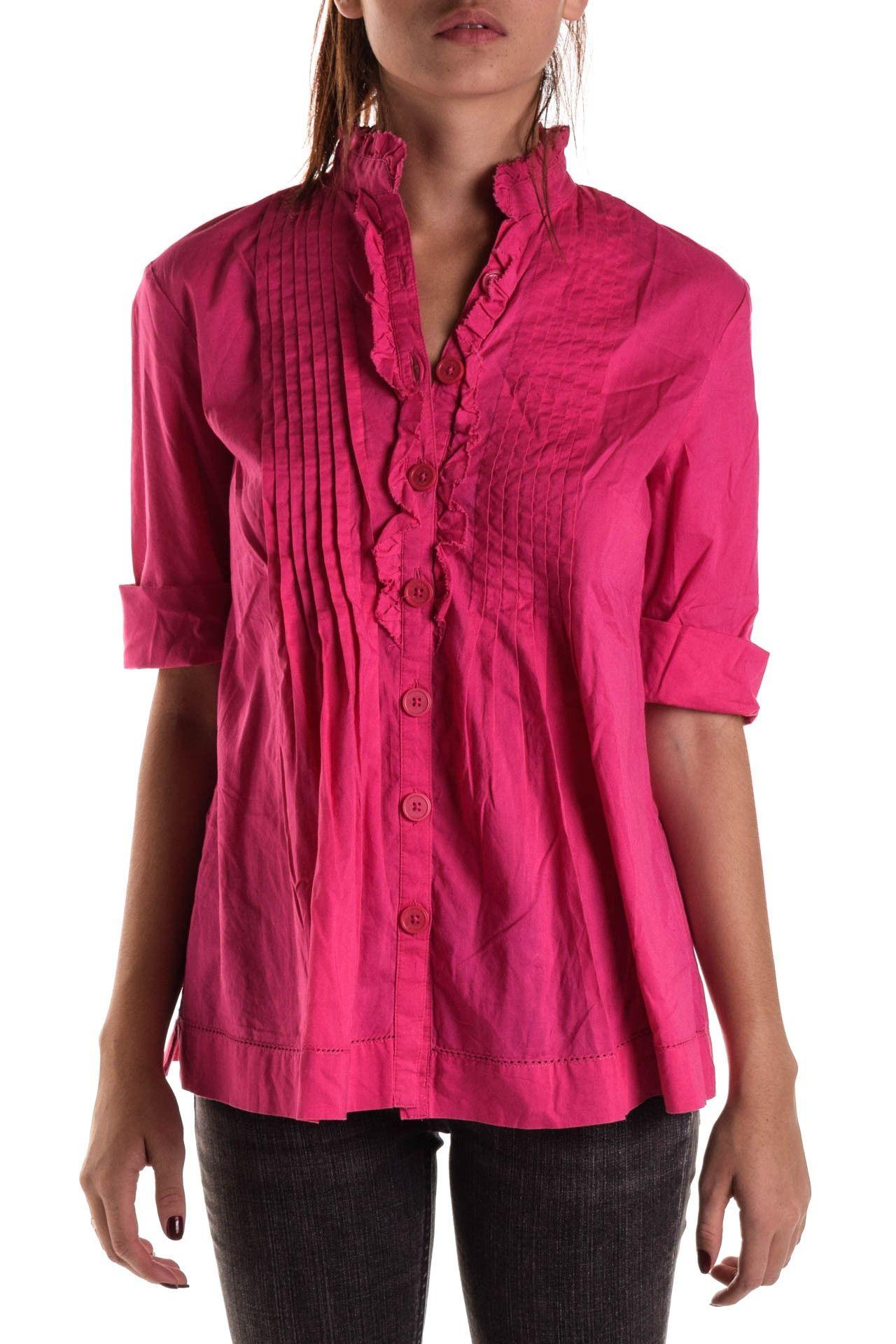 Michael Kors - Camisa Rosa Drapeada - Foto 2