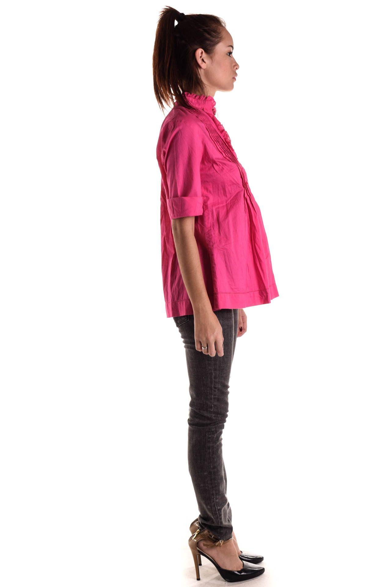 Michael Kors - Camisa Rosa Drapeada - Foto 4