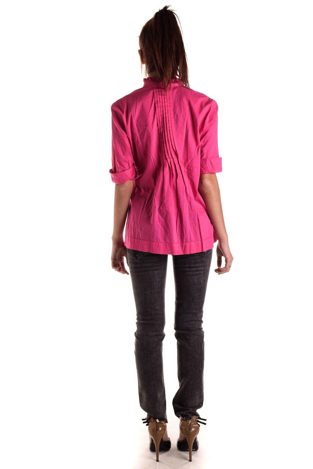 Michael Kors - Camisa Rosa Drapeada - Foto 5
