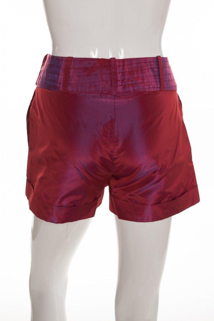 Fafa Oliveira - Shorts Rosa Alfaiataria - Foto 2