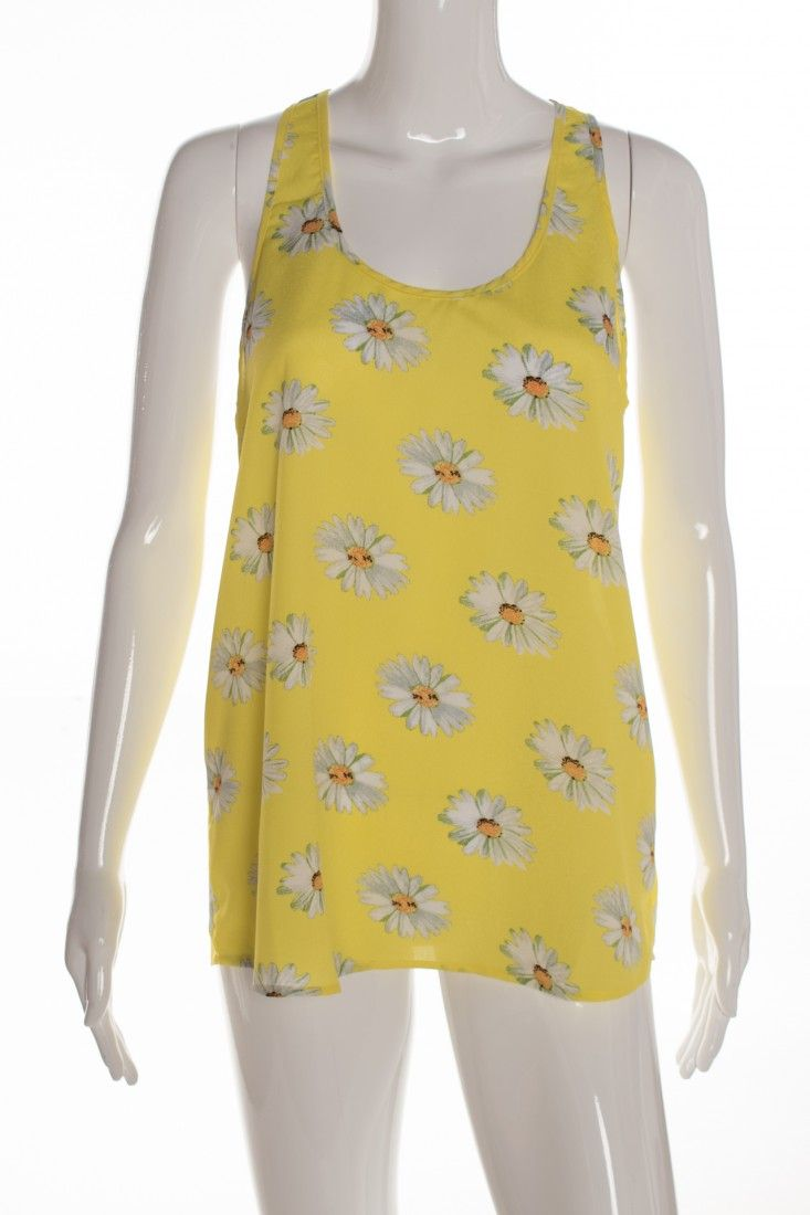 Mais um - Blusinha Amarela Estampa - Foto 1