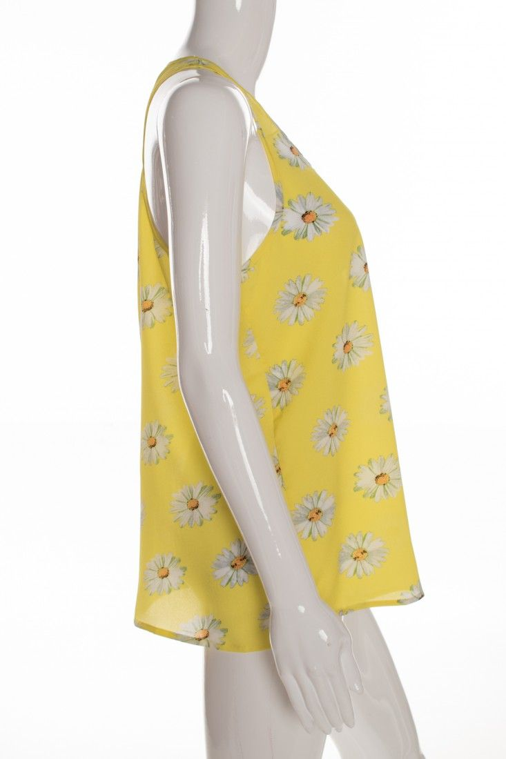 Mais um - Blusinha Amarela Estampa - Foto 3