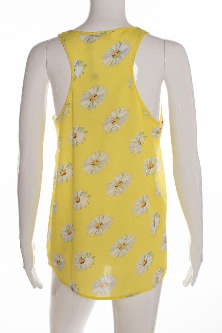 Mais um - Blusinha Amarela Estampa - Foto 2