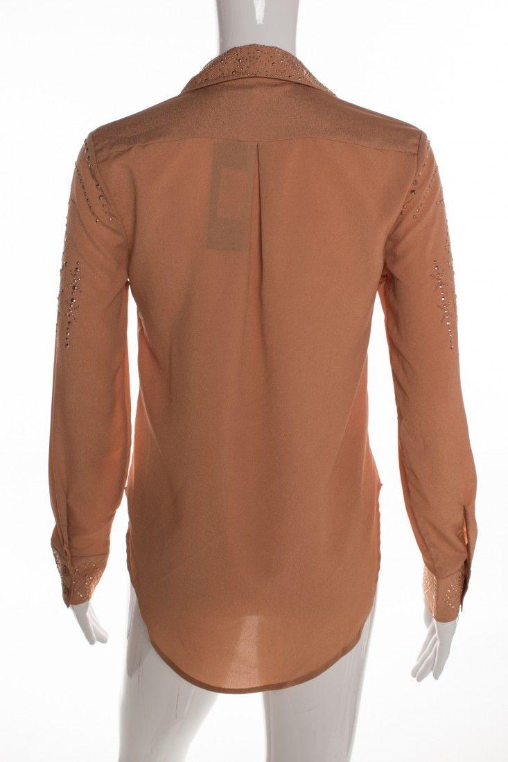 Mais um - Camisa Caramelo Aplicações - Foto 2