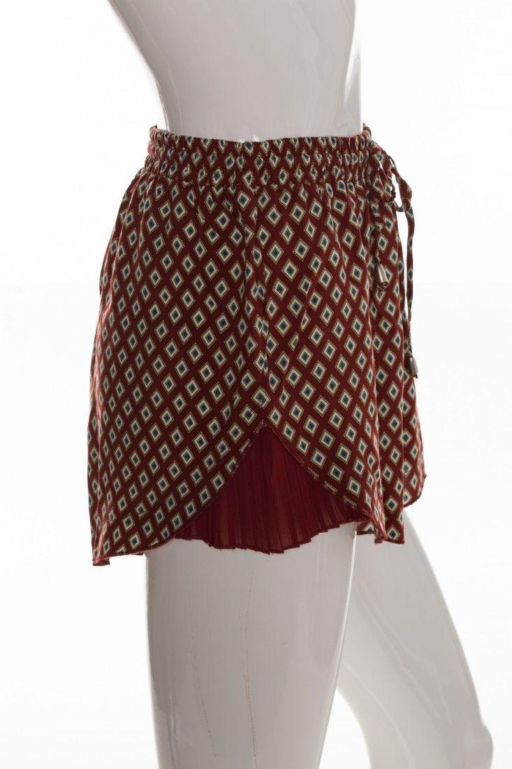 Mais um - Shorts Gravata Estampa - Foto 3