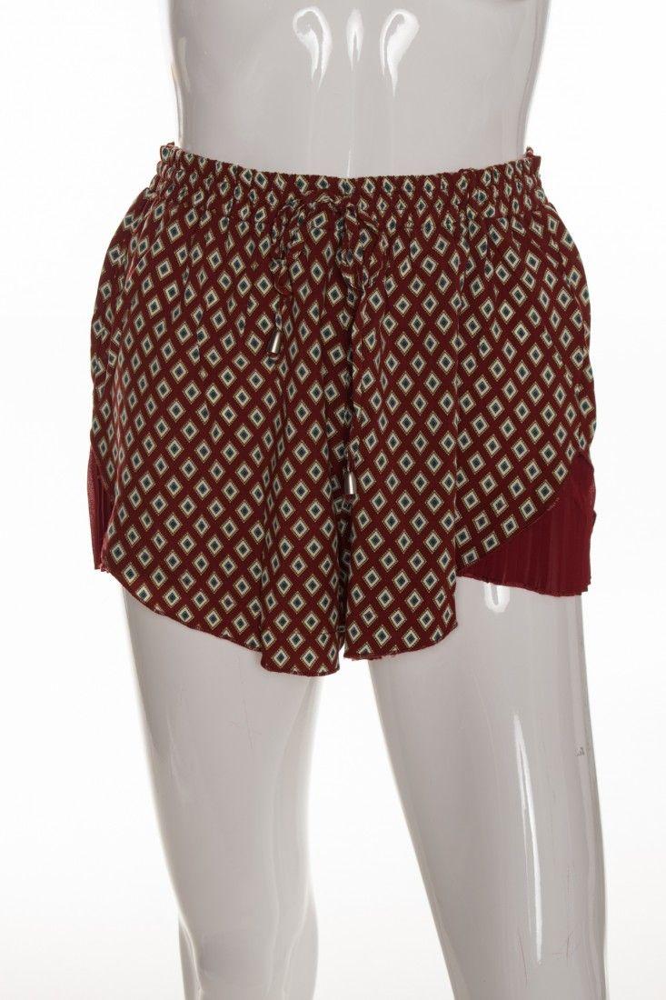 Mais um - Shorts Gravata Estampa - Foto 1