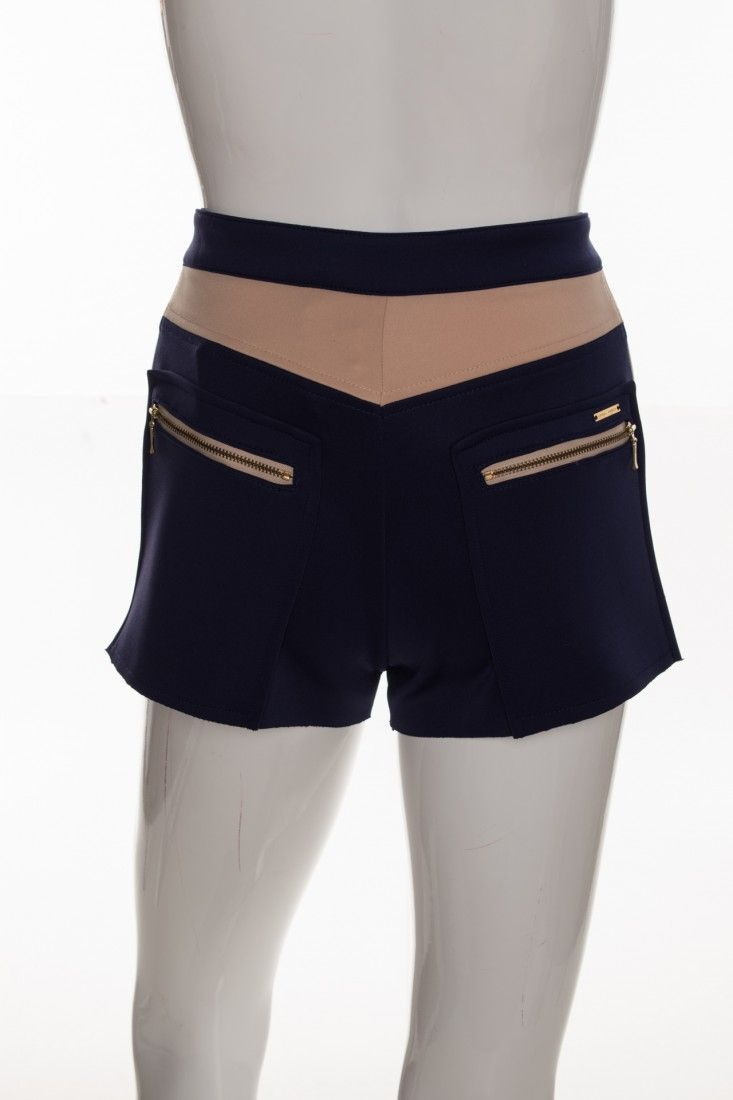 Carol Arbex - Shorts Pardo Azul - Foto 2