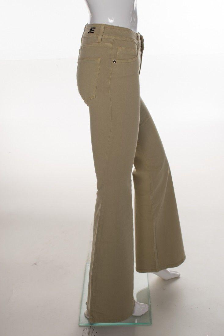 Jeanseria - Calça Jeans Bege - Foto 3