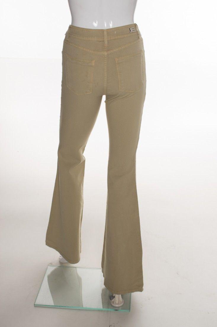 Jeanseria - Calça Jeans Bege - Foto 2