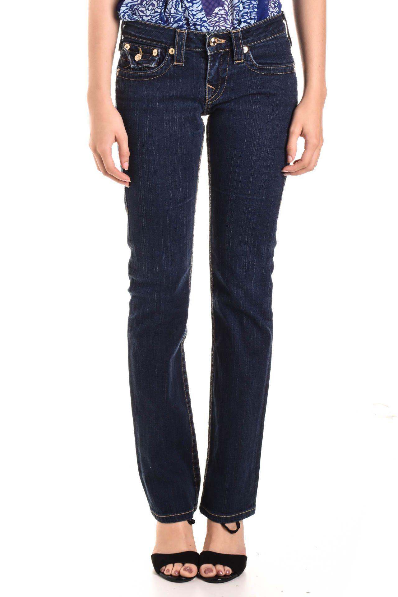 True Religion - Calça Jeans Azul  - Foto 2