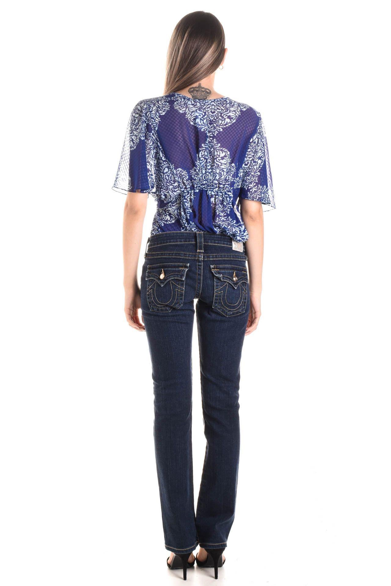 True Religion - Calça Jeans Azul  - Foto 5