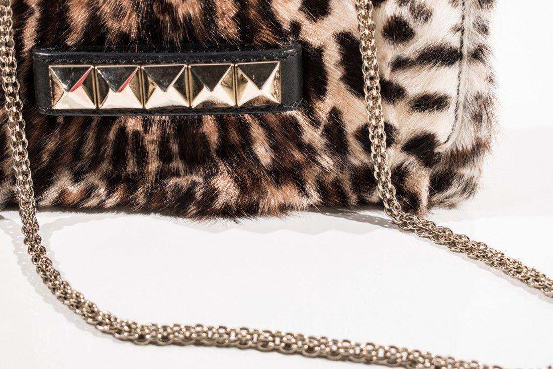 Valentino Garavani - Clutch Animal Chains - Foto 3