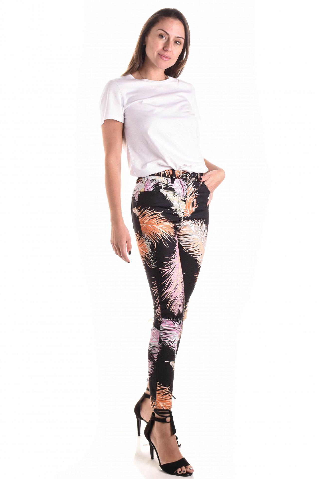 Emilio Pucci - Calça Jeans Estampada  - Foto 3