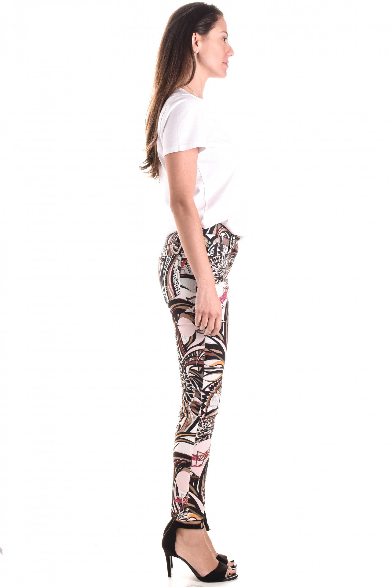 Emilio Pucci - Calça Jeans Estampada  - Foto 4