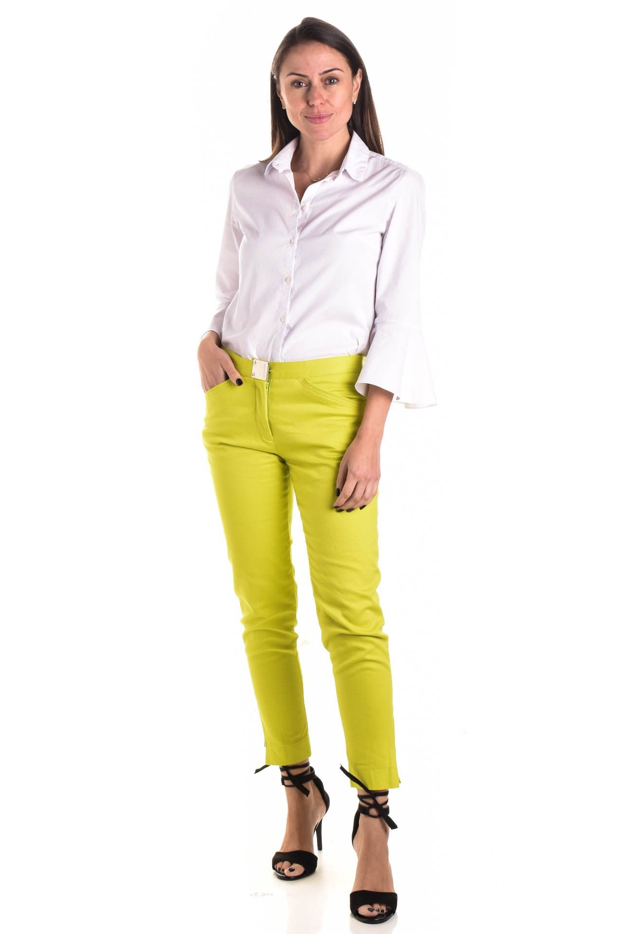 Le Lis Blanc - Calça Textura Verde - Foto 1