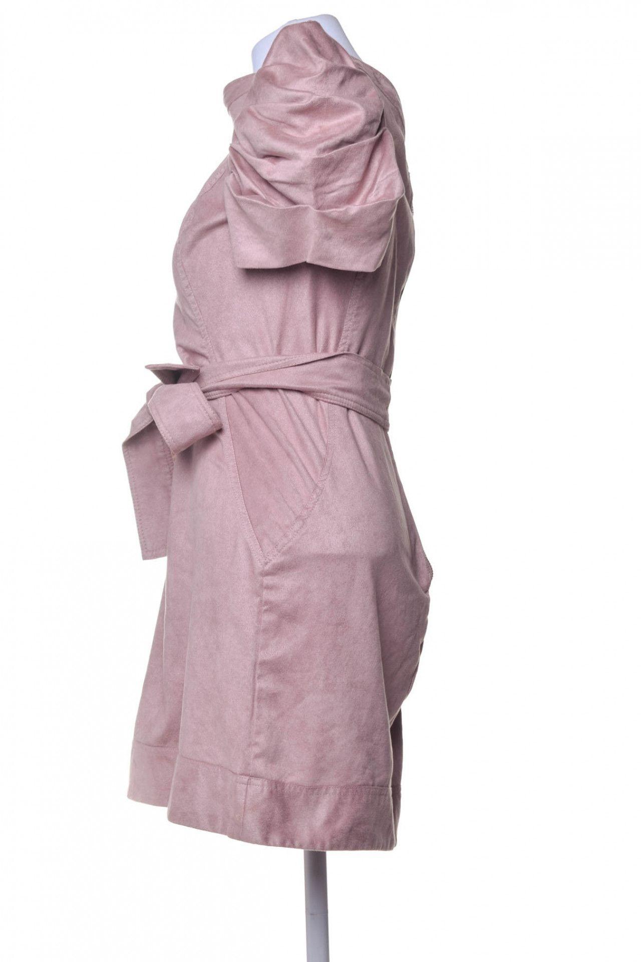 Litt - Vestido Suede Rosê - Foto 2