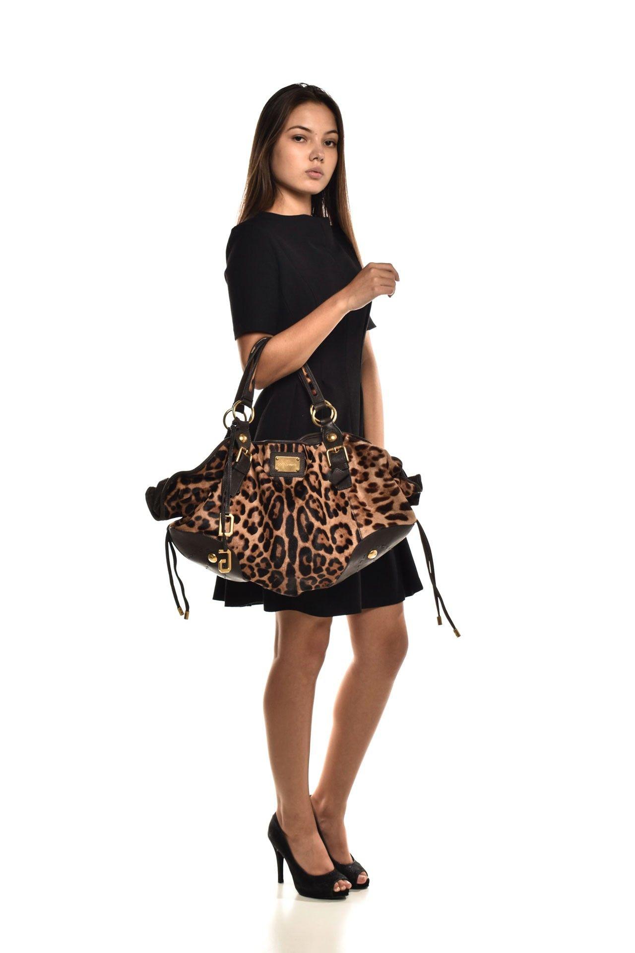 Dolce & Gabbana - Bolsa Estampa Onça - Foto 8