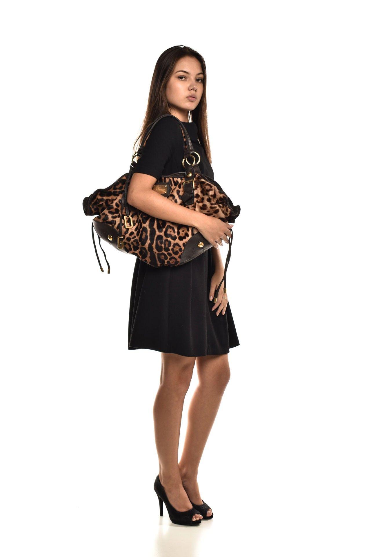 Dolce & Gabbana - Bolsa Estampa Onça - Foto 9