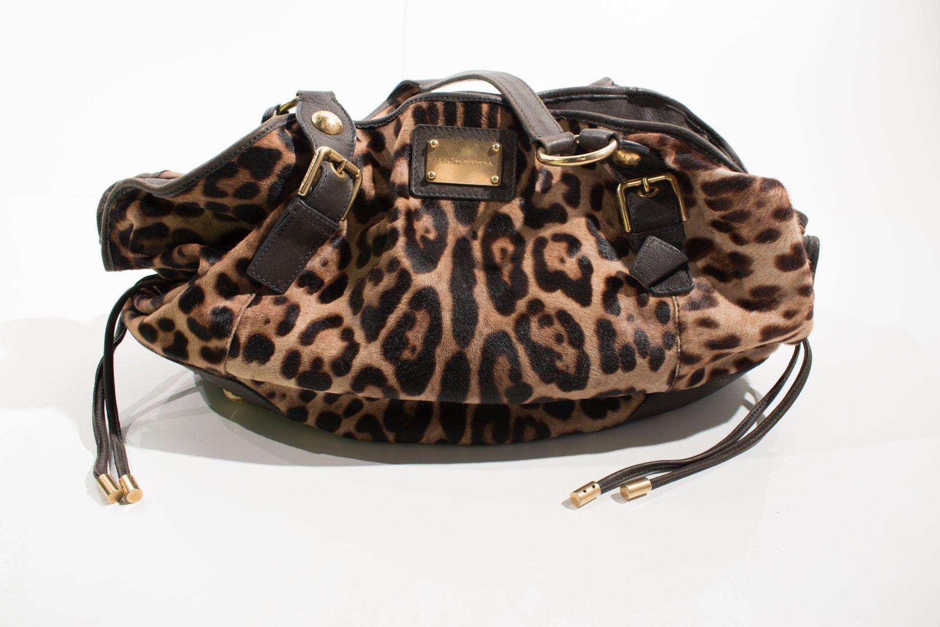 Dolce & Gabbana - Bolsa Estampa Onça - Foto 1