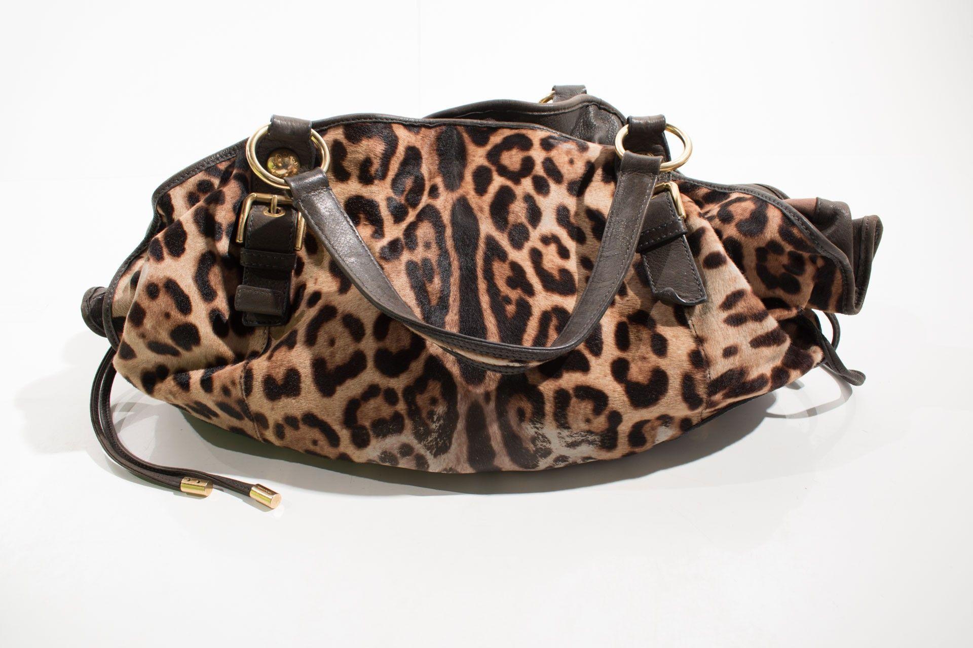 Dolce & Gabbana - Bolsa Estampa Onça - Foto 2