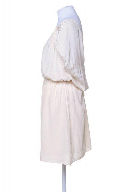 Vestido Creme Corrente  A.brand