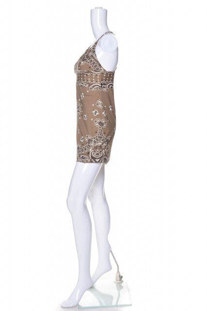 Vestido Estampa Bege Triya