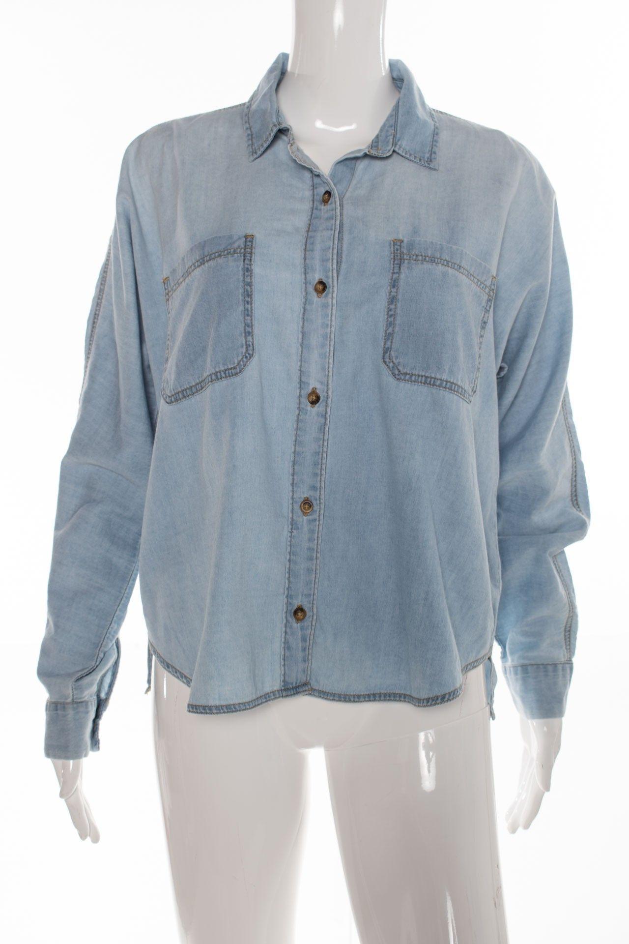 Topshop - Camisa Jeans - Foto 1
