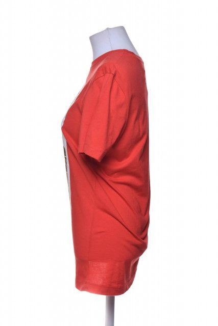Blusa Vermelha Estampa  Paco Rabanne