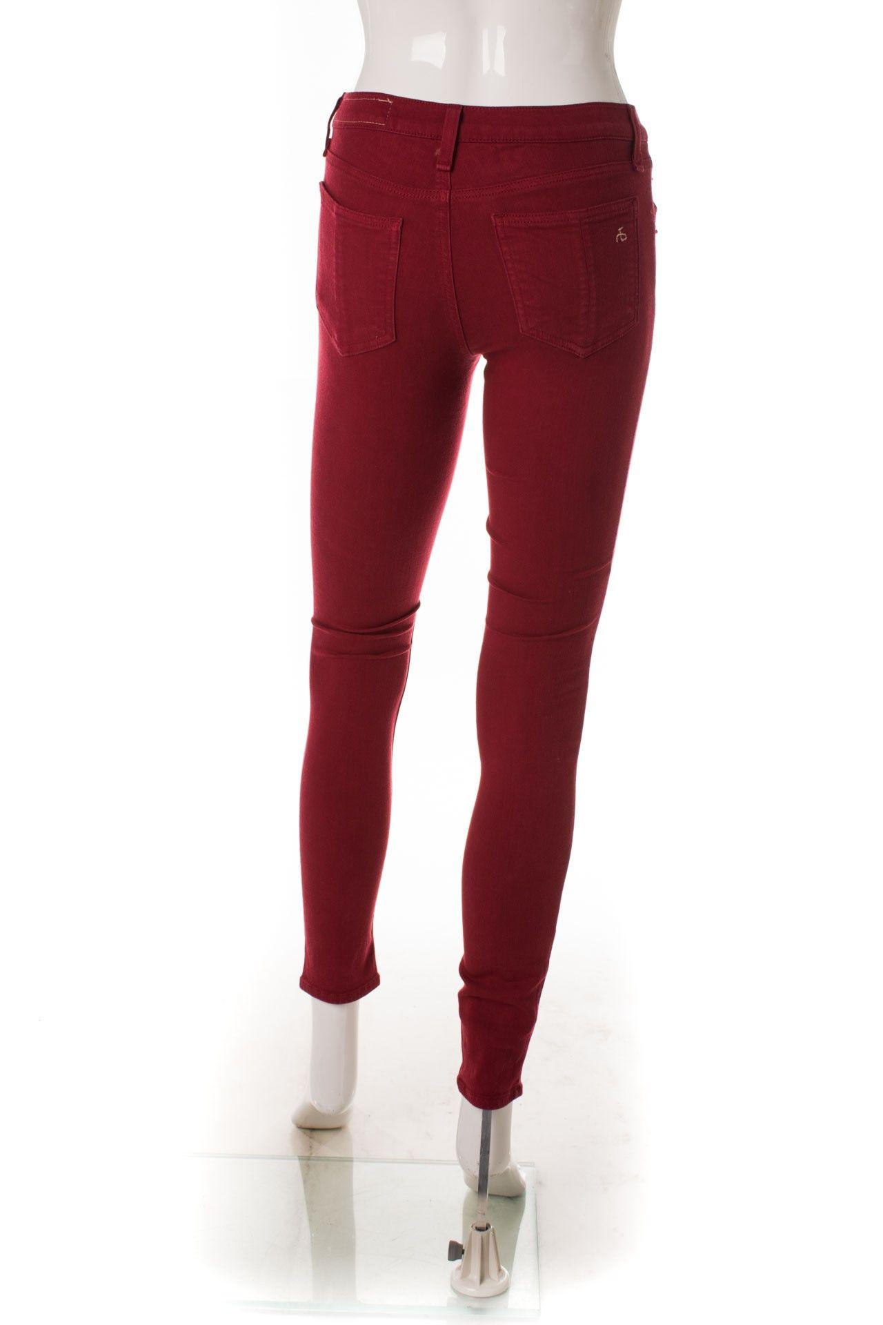 Rag & Bone - Calça Skinny Red - Foto 2