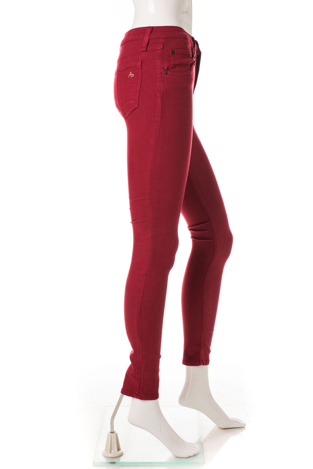 Rag & Bone - Calça Skinny Red - Foto 3