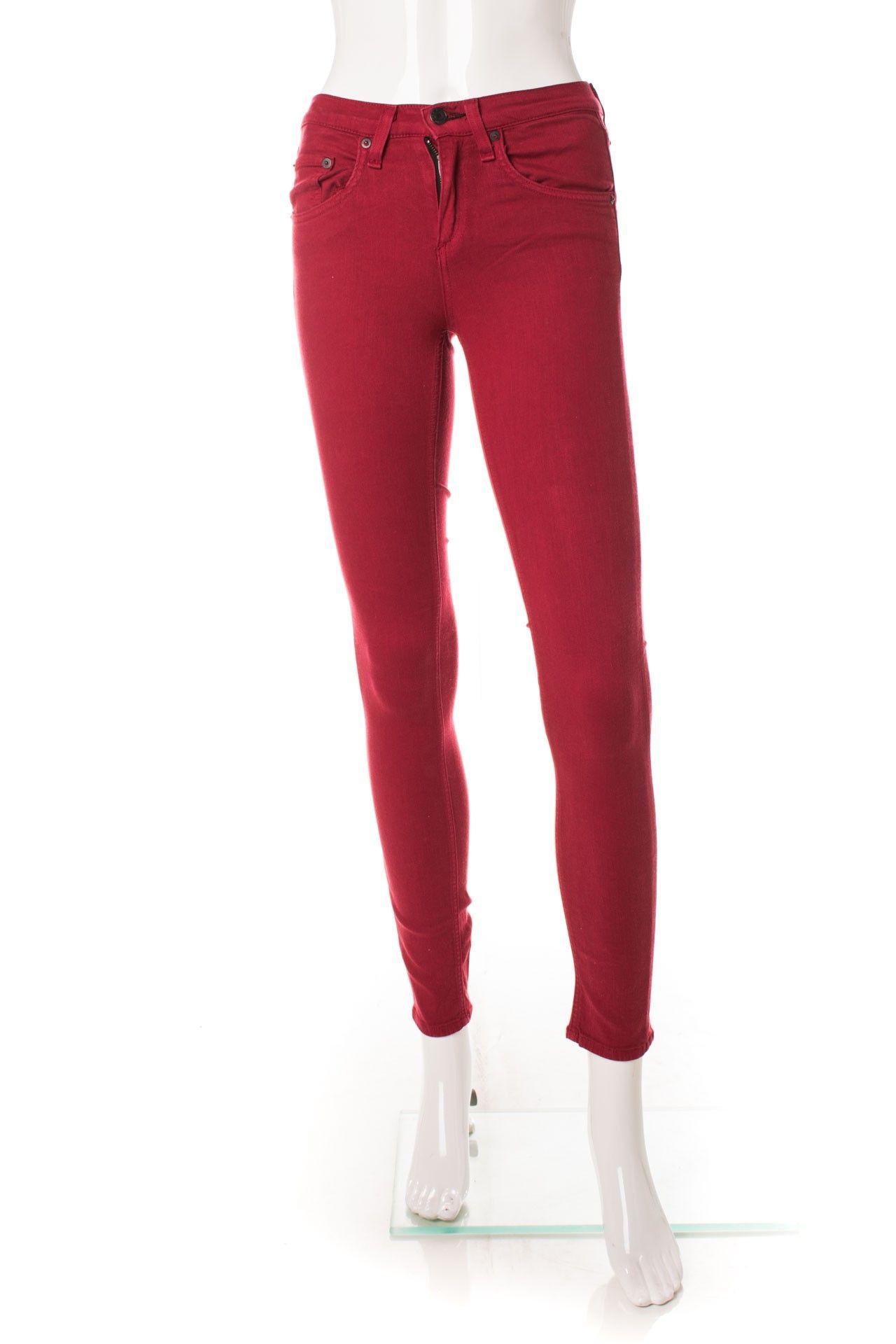 Rag & Bone - Calça Skinny Red - Foto 1