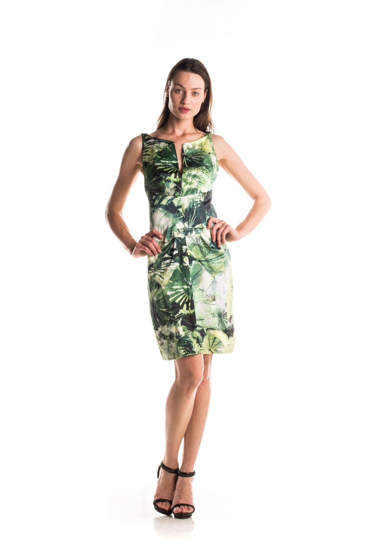 Tufi Duek - Vestido Decote Estruturado - Foto 1
