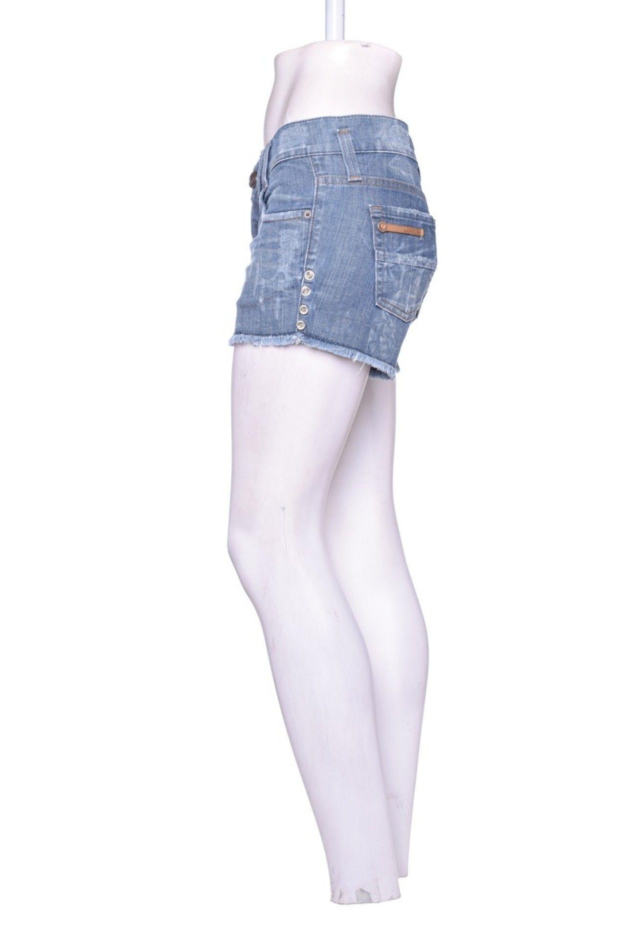 Damyller - Shorts Jeans Lavagem - Foto 2