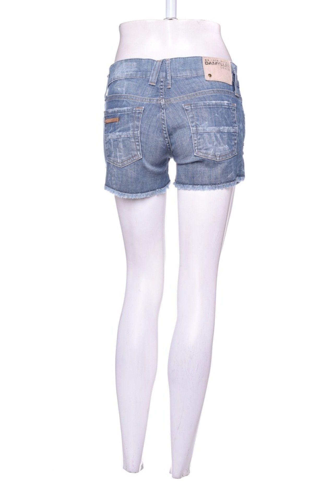 Damyller - Shorts Jeans Lavagem - Foto 3