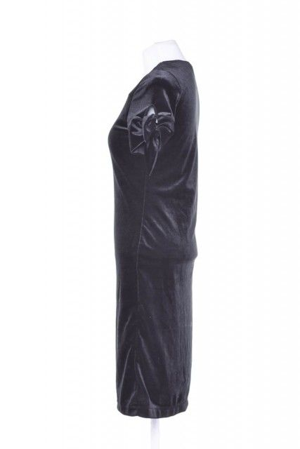 Vestido Veludo Preto  Agilità