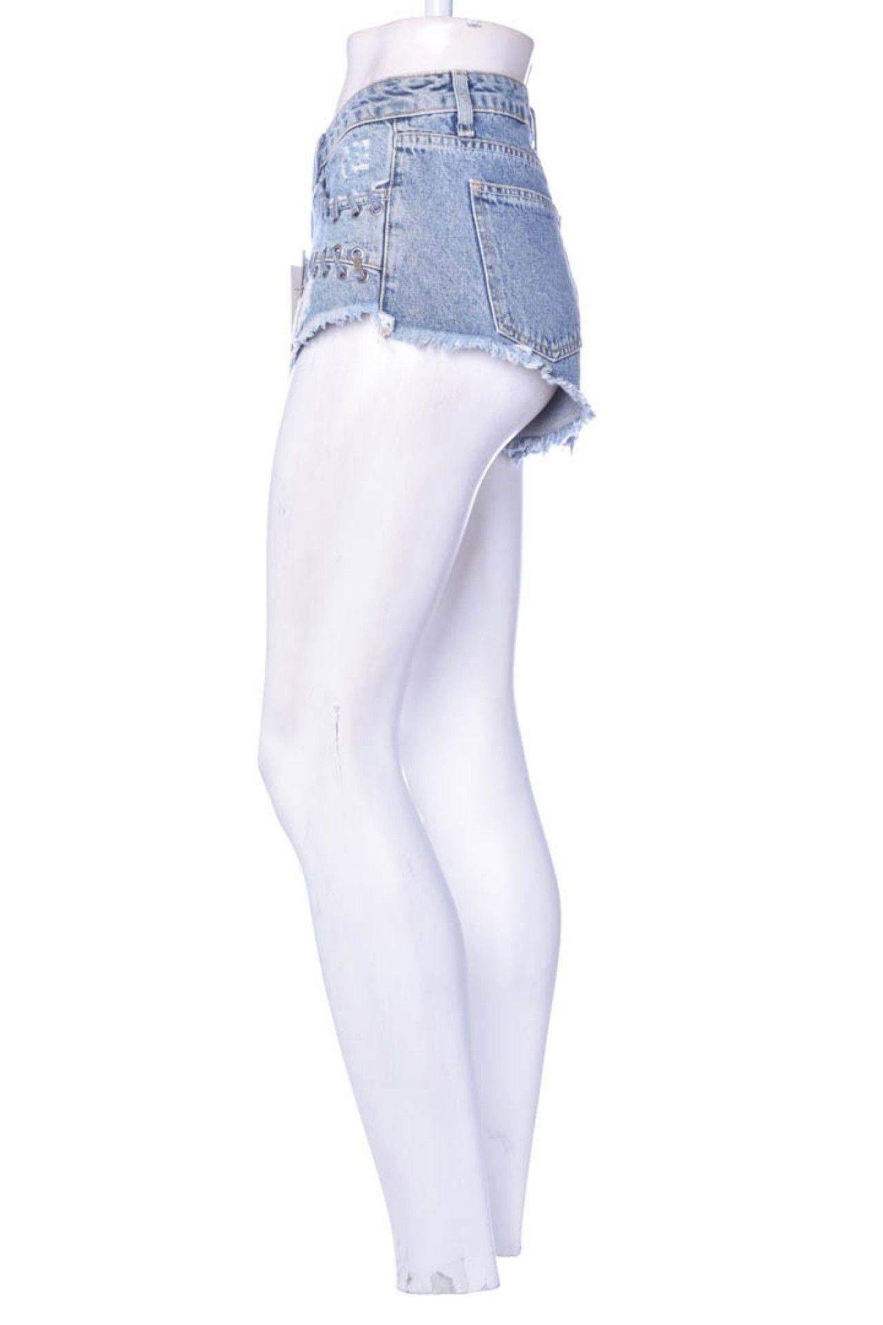 Espaço Fashion - Shorts Jeans Transpasse - Foto 2