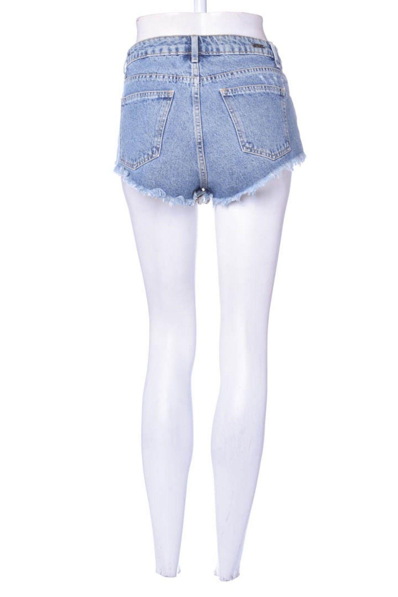 Espaço Fashion - Shorts Jeans Transpasse - Foto 3