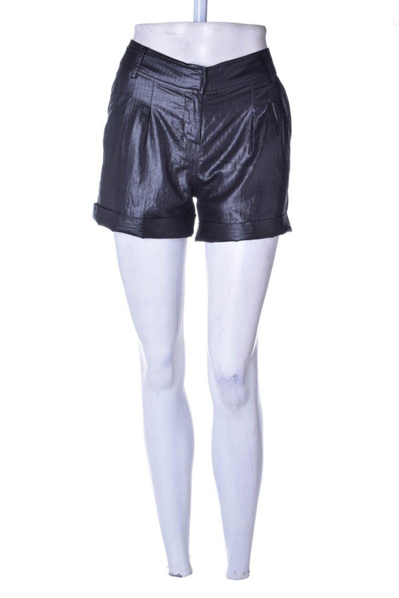 Armani Exchange - Shorts Alfaitaria Preto  - Foto 1