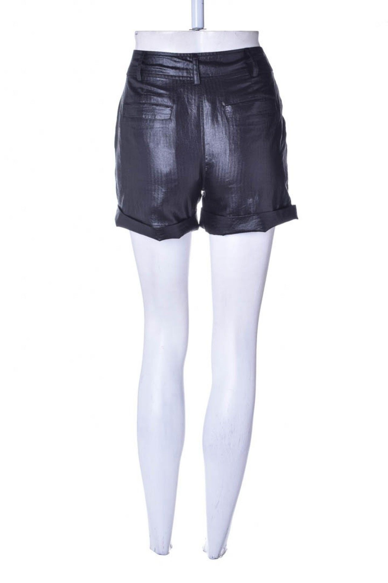 Armani Exchange - Shorts Alfaitaria Preto  - Foto 3