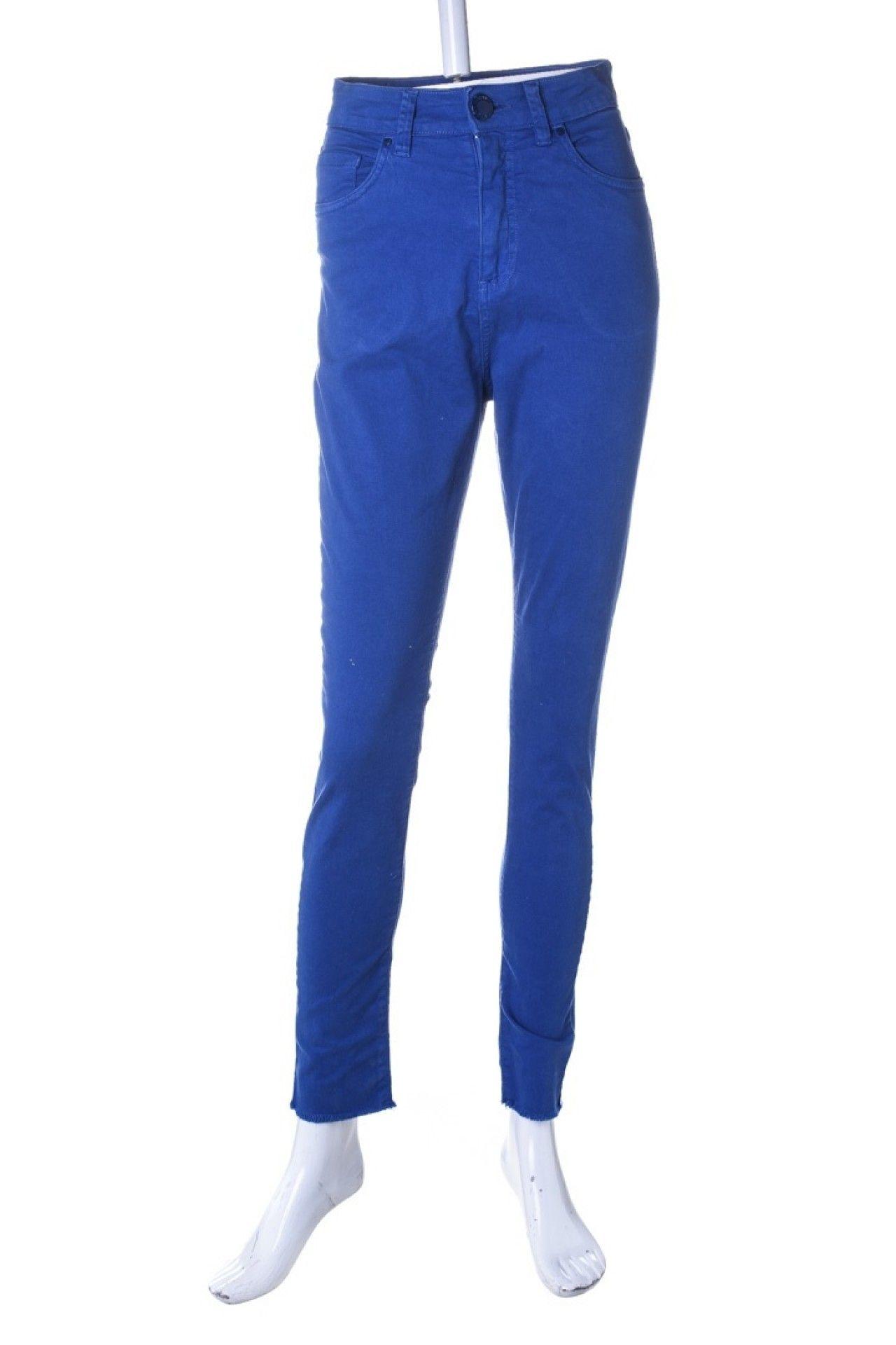 A.brand - Calça Skinny Azul  - Foto 1