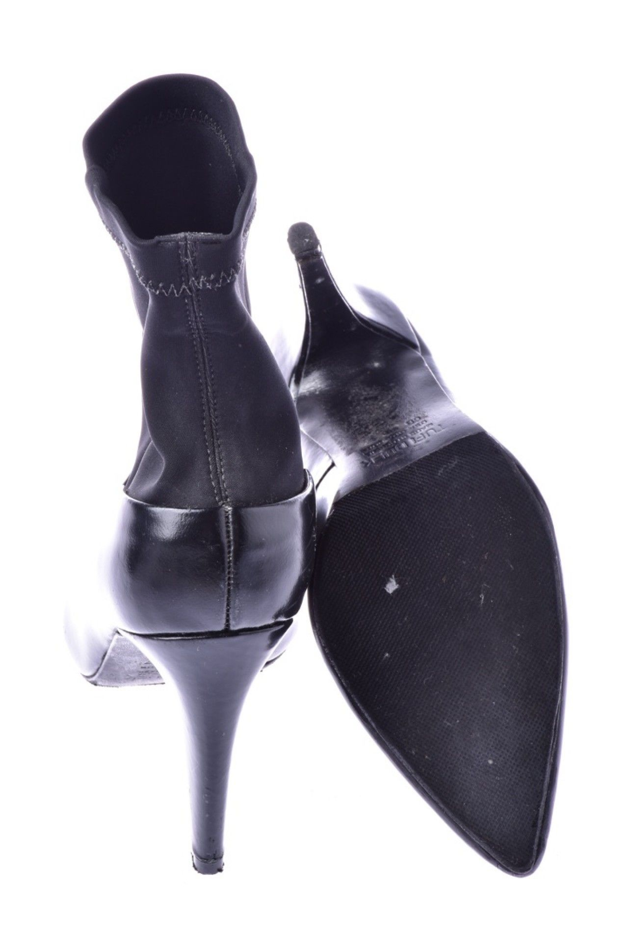Tufi Duek - Sapato Preto Tecido  - Foto 3